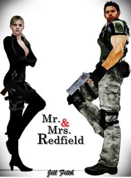 * Mr. and Mrs. Redfield * by JillFilth