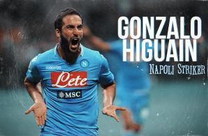 Gonzalo Higuain - Napoli Striker by SentonB