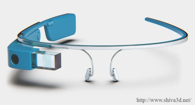 Google Glass by Shiva3d