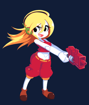 Curly Brace - Cave Story by balitix