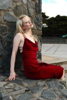 Gabby - red dress 2 by wildplaces