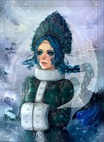 The Snow Maiden by MoonSelena