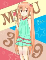 Miku~need some wine? by flyhorse323
