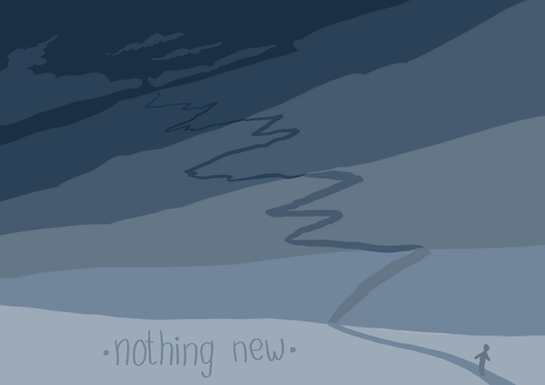 [two words] nothing new by GhitaBArt