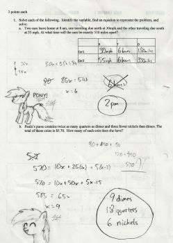 Sketch in math pony outline hd by Sethdrax