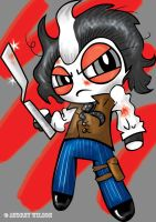 A Puffed Sweeney Todd by PoisonApple88