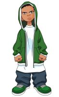 The Boondocks - Riley by dominicanjoker