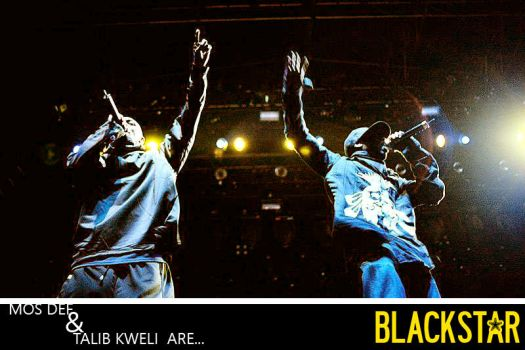 Mos Def and Talib Kweli by LuckyLefty