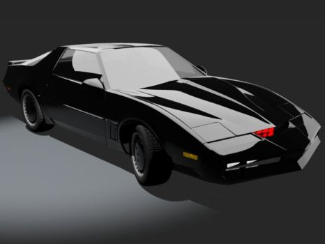 Knight Rider Trans Am KITT by wannabegeorge