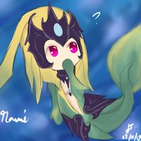 Nami the Tidecaller by TheMuteMagician