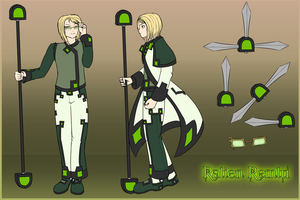 [Character] Ralien Reference by Voleno