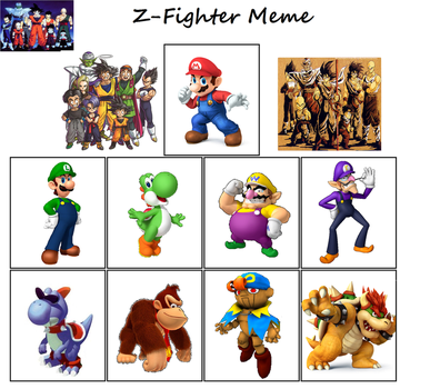 Super Mario Z Fighters by TVnGames