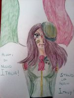 Stand Up Again Italy!!! by Grifessa