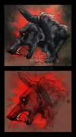 Werewolf Portraits by Twilight-Veil