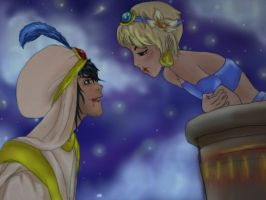 Cain and Abel- Arabian nights, never been gay'er by RainbowTigerPaws