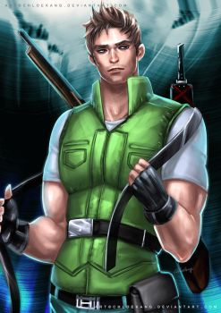 Chris Redfield by ChloeKang