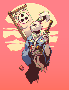 Usagi-Yojimbo by redeve
