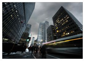 Montreal at Night 64 by Pathethic