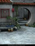 FREE STOCK Streets of Asia Background by ArtReferenceSource