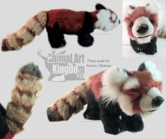 Red Panda Plush Order by AnimalArtKingdom