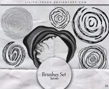 Spirals Brushes 34 by Lilith-Trash