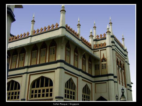 Sultan Mosque by rinaz