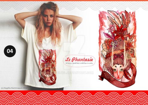 Le Phantasie, Illustration Tshirt 04 by Eijiel