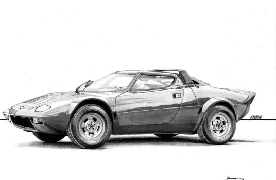 Lancia Stratos by sesven