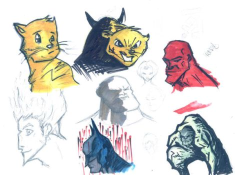 Copic Markers Testing by tai-gar