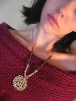 Amulet of Beauty Necklace by jokersdraw
