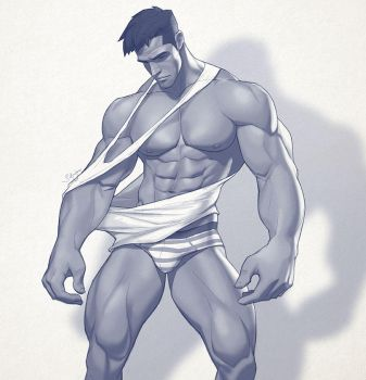 Hunk of the week #39 by silverjow