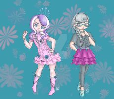 Daimond Tiara and Silver Spoon by Yunsildin