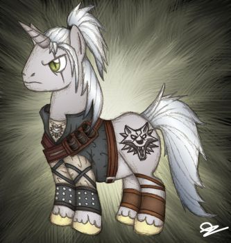 Ponified Geralt by ozone48