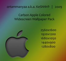 Carbon Apple Colorized by ortammanyaa