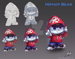 Bear Hiphop by H-Battousai