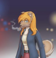 Collette chief investigator by faogwolf