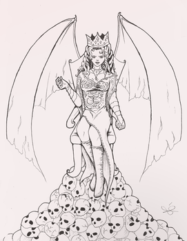 Queen of Hell by ste3o