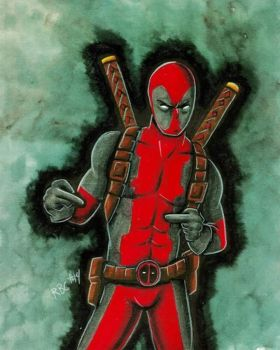 Deadpool by jimbobpetemoss