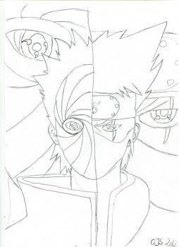 Tobi and Kakashi, destined to fight? by Scarecrow606