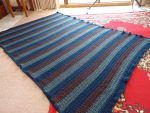 V Stitch Crochet blanket by me-and-mojo