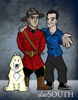 dueSouth toons by scruffyzero