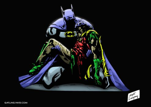 Batman: A Death In The Family by GatlingInks