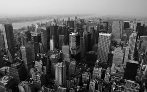 Looking down on NYC2 Wallpaper by lowjacker