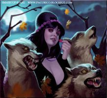 Summon wolves by Mancomb-Seepwood
