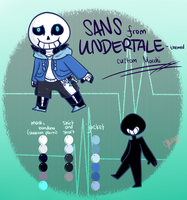 Sans from Undertale-themed custom Mocchi by Mikage-YoshinoAnerin