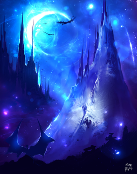 Blue Moon by ryky