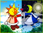 Day or Night love conquers all by Bowser2Queen