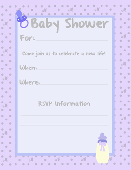 Baby Boy Shower Invite by ebojf