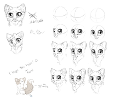 Chibi tutorial thing by LiaBorderCollie