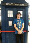 Me and the Tardis, Forbidden Planet, London by DoctorWhoOne